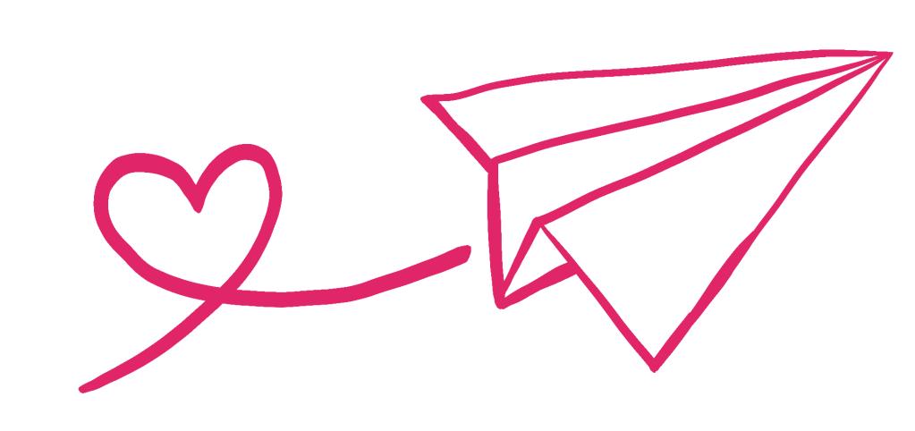 Dessin avion de papier
